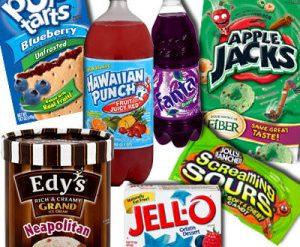 Food Coloring Toxins