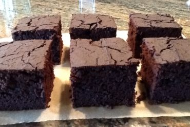 GF Dark Chocolate Brownies