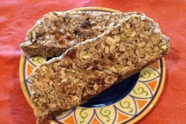 multi seed date bread