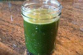 chard kale & apple juice