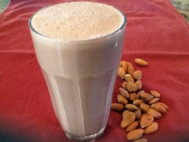 chocolate, almond, coconut milk