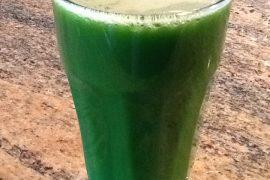 kale, apple, parsley