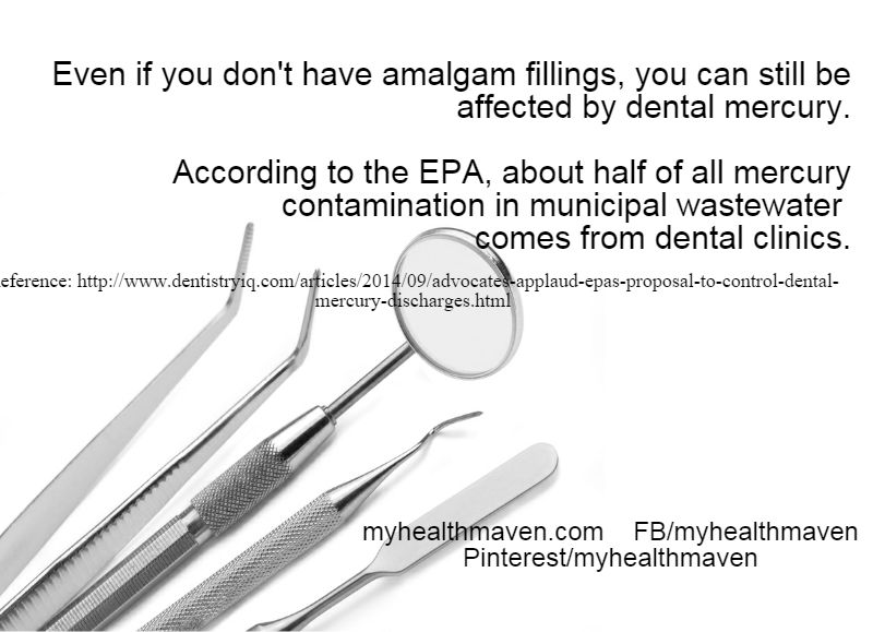 Mercury from Amalgam Fillings in Wastewater