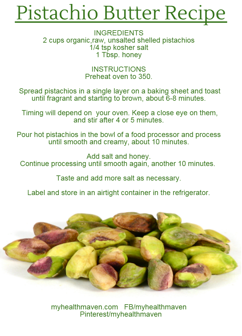 Pistachio Butter Recipe