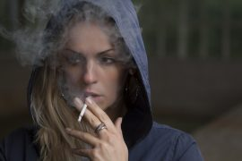 woman-smoking