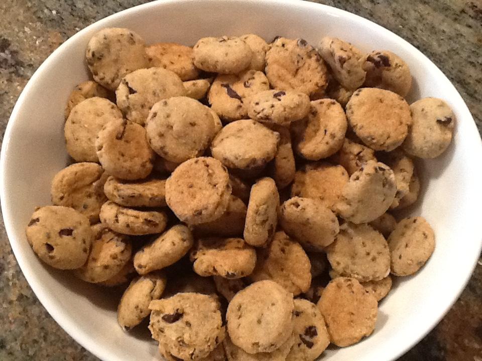 choc. chip mini in bowl