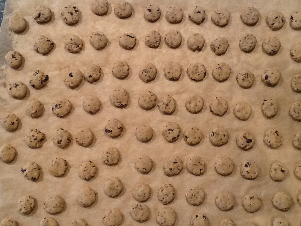 choc. chip mini pre baked
