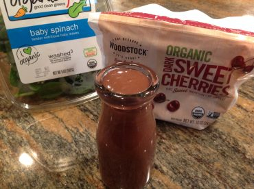 Chocolate Cheery Smoothie