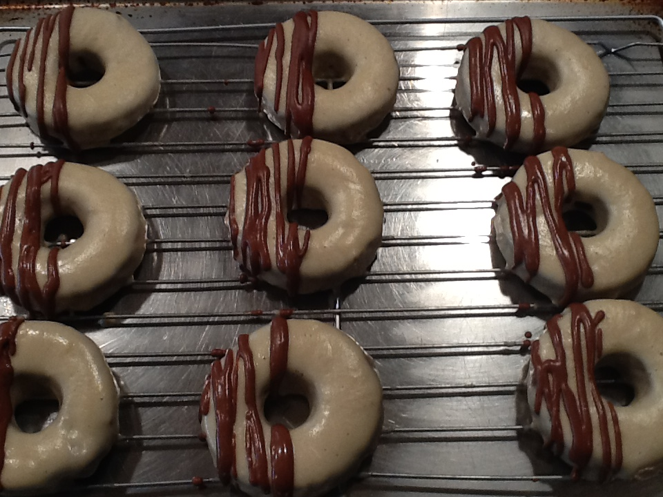 raw donut drizzle