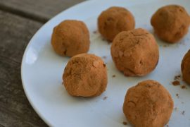 Dr. Jockers chocolate truffles