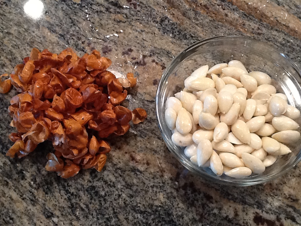almonds peeled