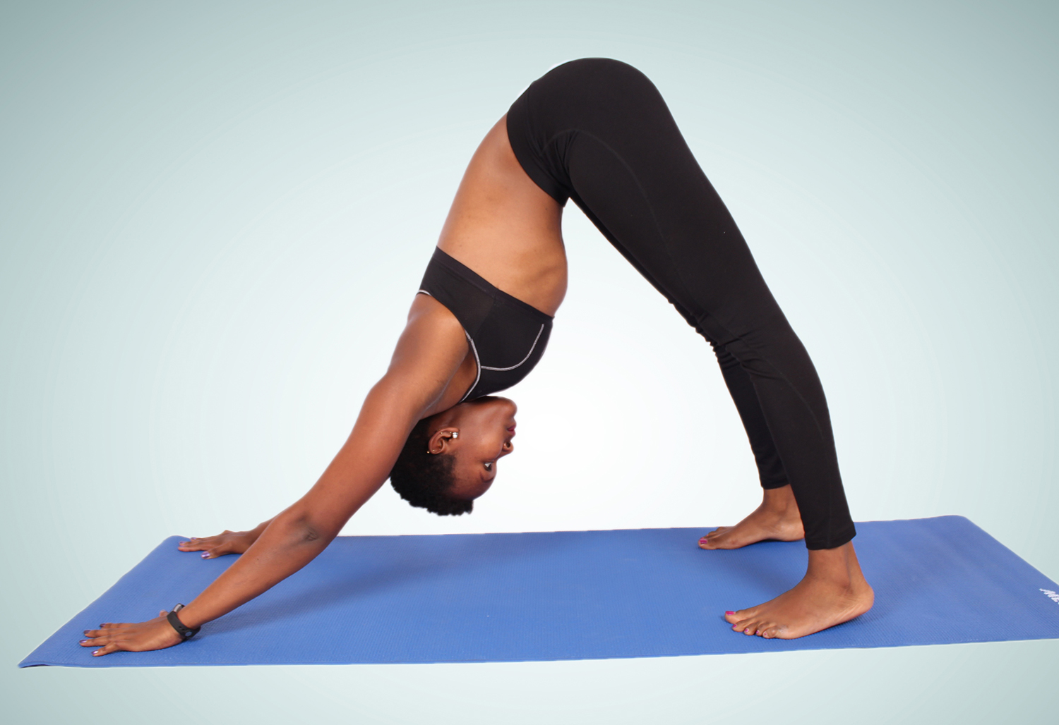 yoga-downward facing dog