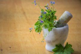 Herbs-pestle