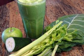 collard and hemp smoothie