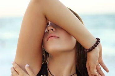 deodorant under arm