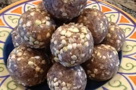 Vanilla Date Buckwheat Bites